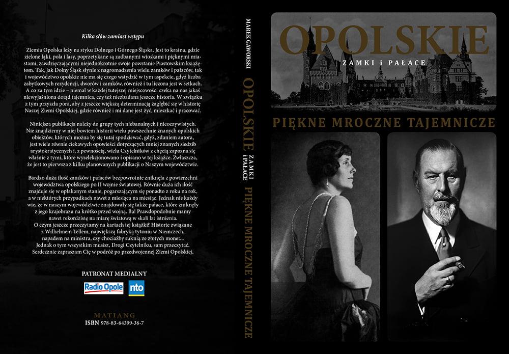 Okładka książki Opolskie zamki i pałace. Piękne, mroczne, tajemnicze'