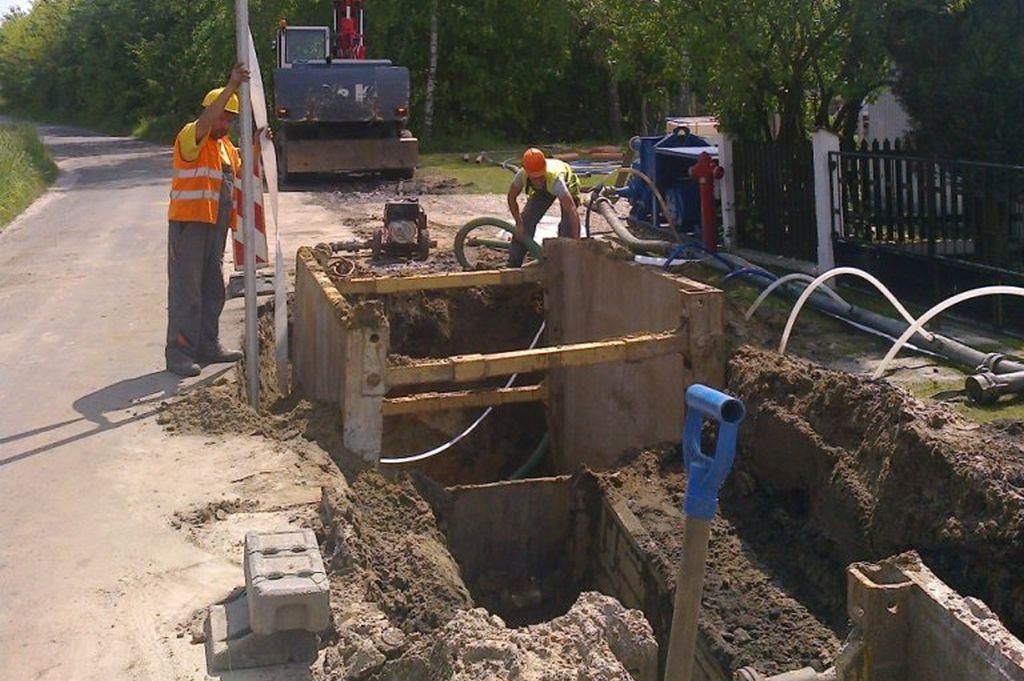 Budowa kanalizacji [fot. SWiK]