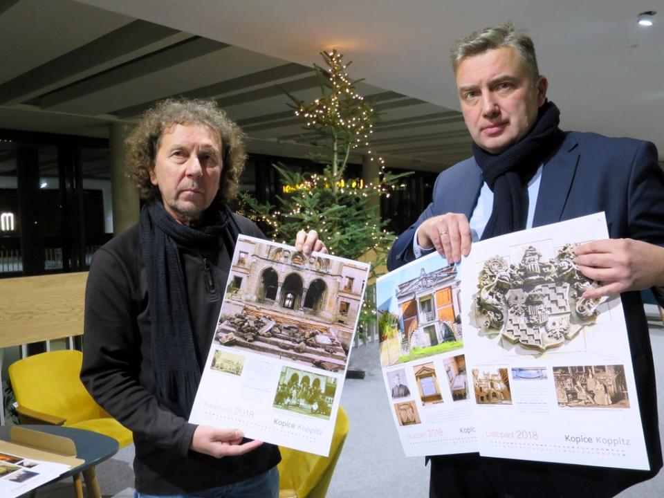 od lewej Mariusz Przygoda i Maciej Mischok [fot. Mariusz Majeran]