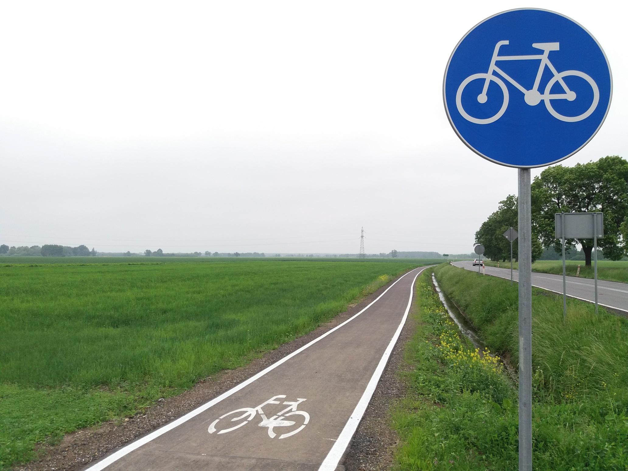 Ścieżka rowerowa [fot. Maciej Stępień]