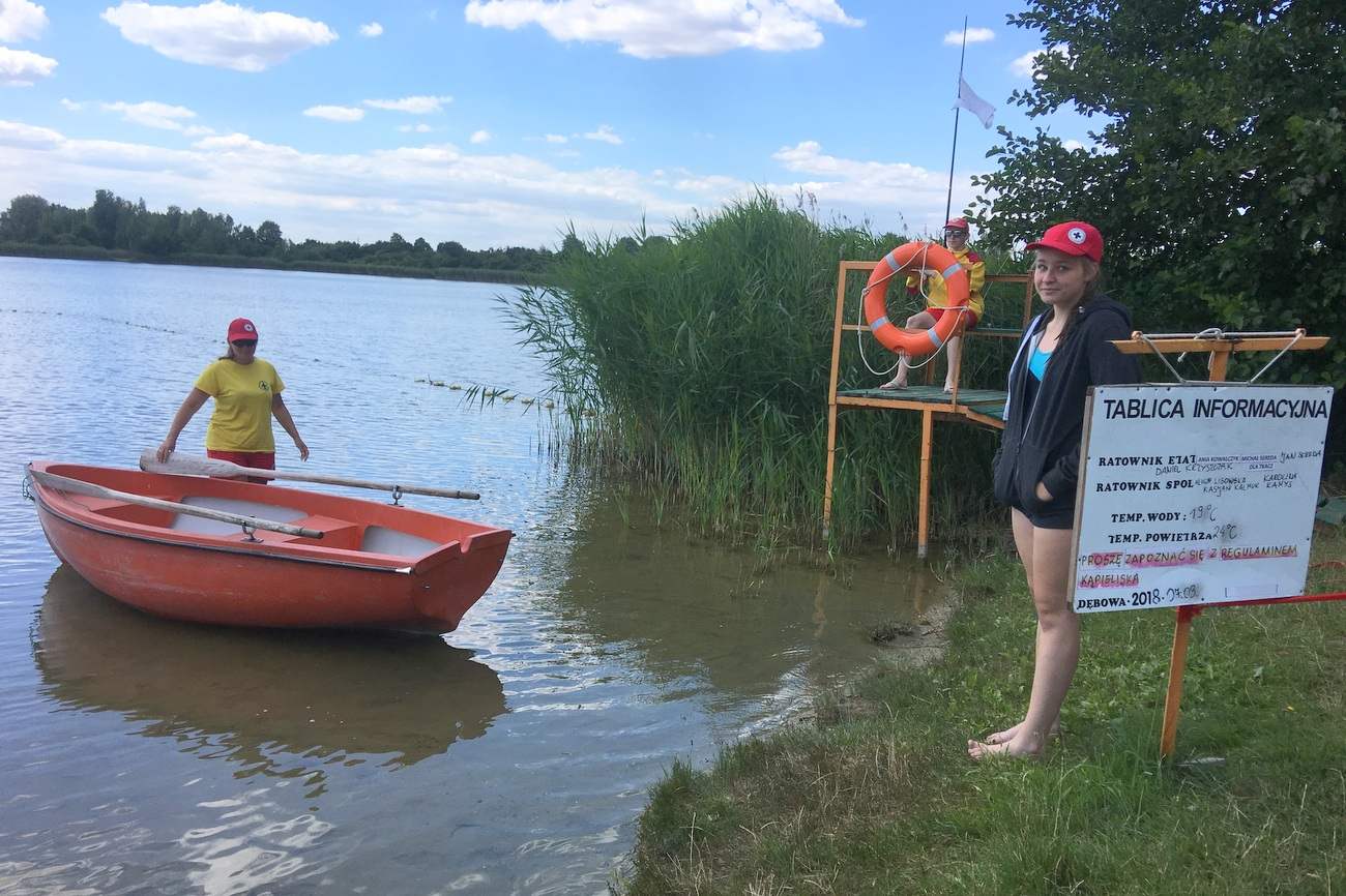 Ratownicy od soboty będą czuwać nad bezpieczeństwem kąpiących się w Dębowej