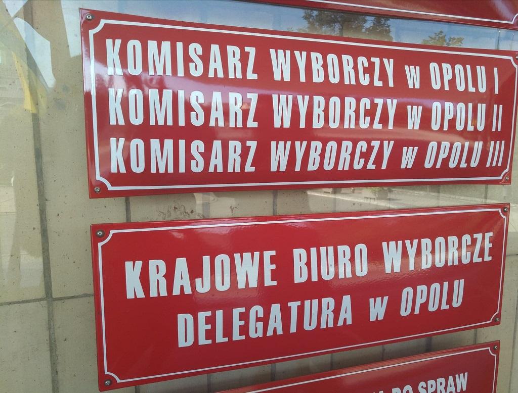 Krajowe Biuro Wyborcze w Opolu [fot. Katarzyna Doros]