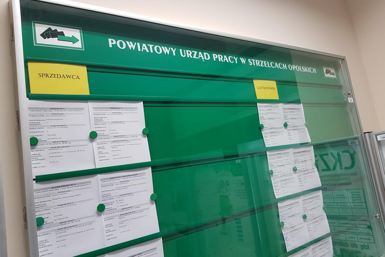 Około 2 tysięcy osób bezrobotnych przybyło w województwie opolskim od początku pandemii koronawirusa