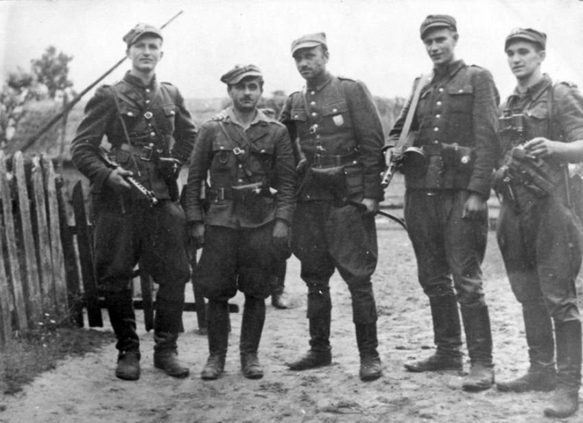 Żołnierze wyklęci (5. Wileńska Brygada AK) [fot. domena publiczna]