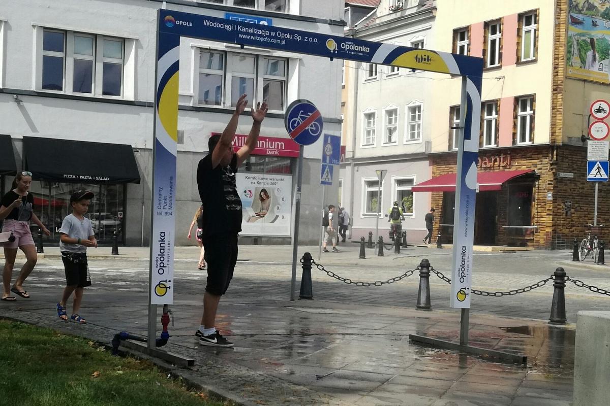Decyzją opolskiego WIK i sanepidu kurtyny wodne w Opolu nie zostaną uruchomione