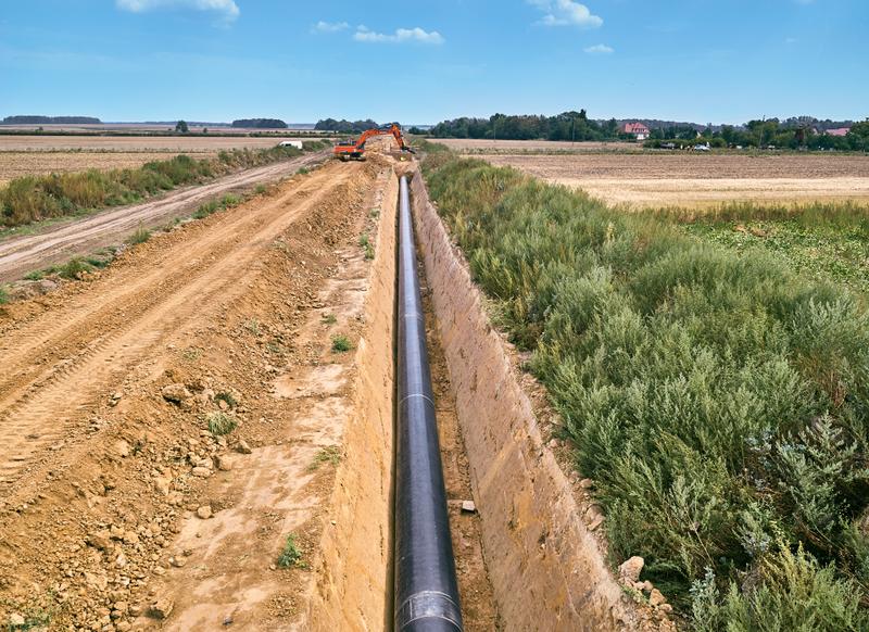 Tworóg - Kędzierzyn. 43 km nowego gazociągu już działa