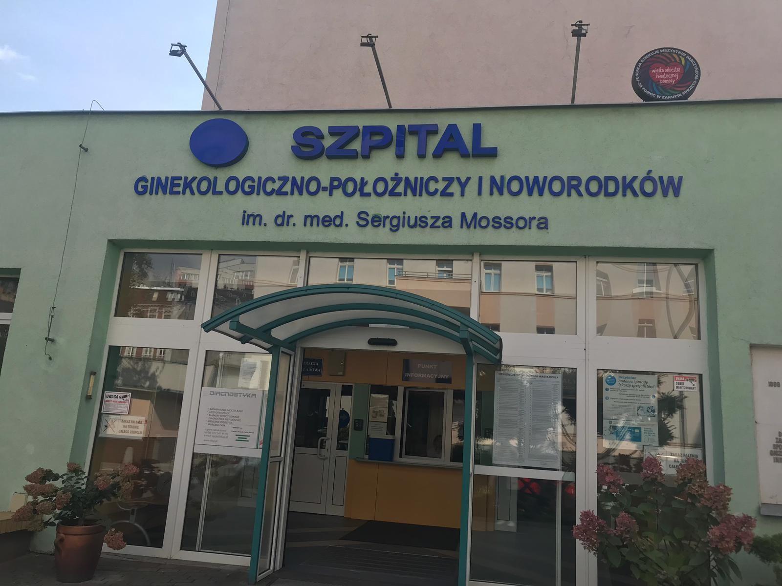 Kliniczne Centrum Ginekologii, Położnictwa i Neonatologii w Opolu[fot.M.Matuszkiewicz]