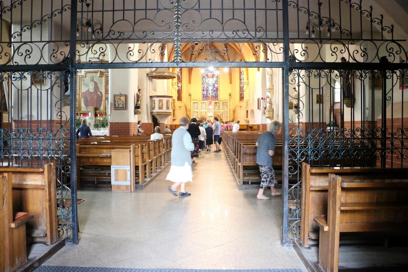 Kościół św. Zygmunta i św. Jadwigi Śląskiej w Kędzierzynie-Koźlu [fot. Justyna Krzyżanowska]