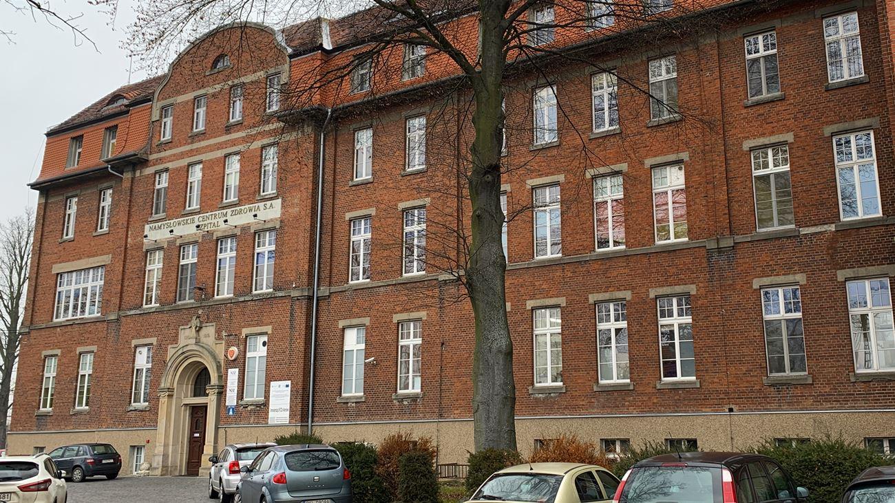 Szpital w Namysłowie [fot. Daniel Klimczak]