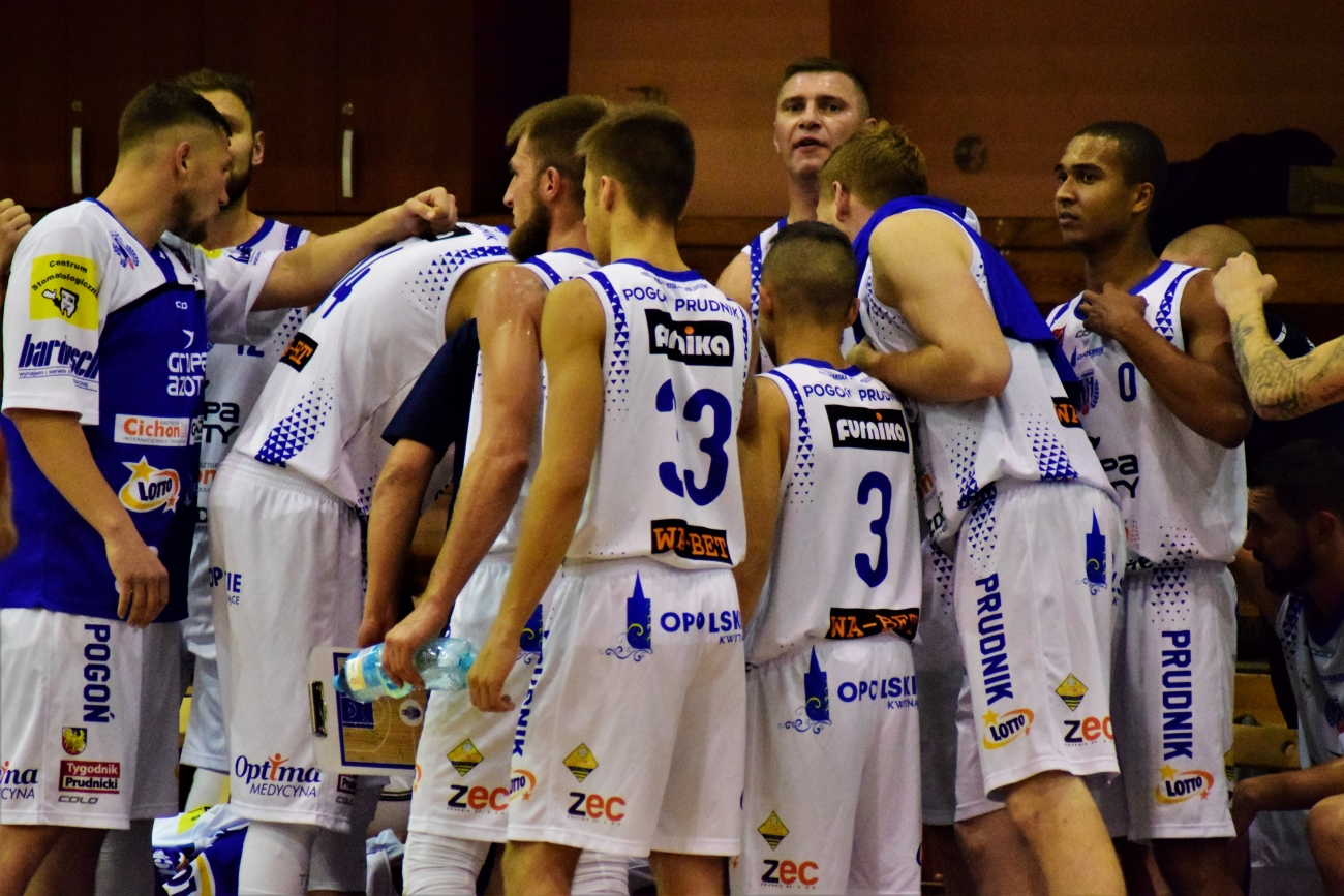 Koszykówka: porażka Pogoni Prudnik z Księżakiem Łowicz