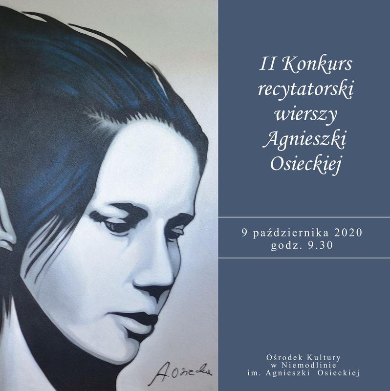 II Konkurs recytatorski wierszy Agnieszki Osieckiej w Niemodlinie