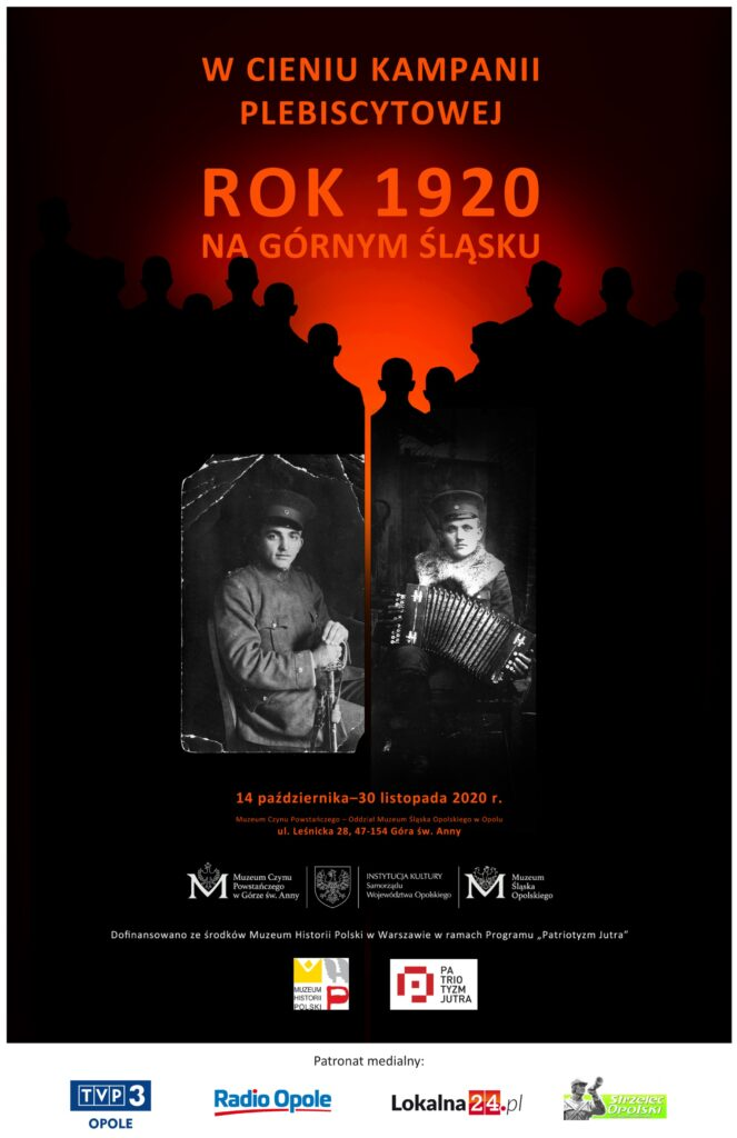"""Wystawa czasowa """"W cieniu kampanii plebiscytowej – rok 1920 na Górnym Śląsku"""" – wernisaż już 14.10! [materiały organizatora]"""