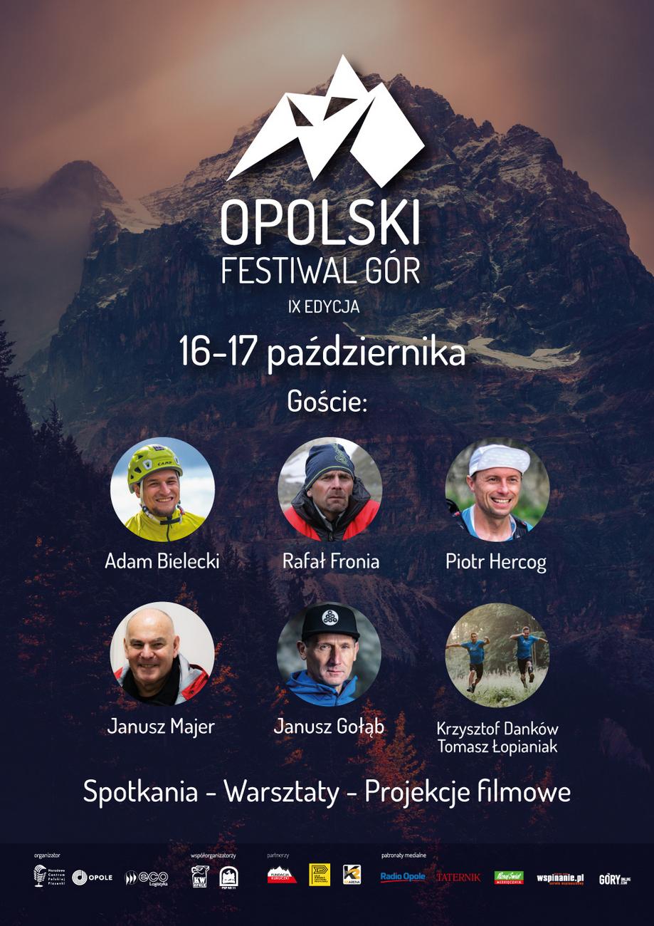 Zbliża się IX Opolski Festiwal Gór – poznaj program! [materiały organizatora]