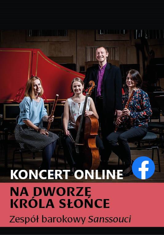 Kameralny koncert w Filharmonii Opolskiej - zobacz on-line! Zespół Sanssouci [fot. materiały przesłane przez Filharmonię Opolską]