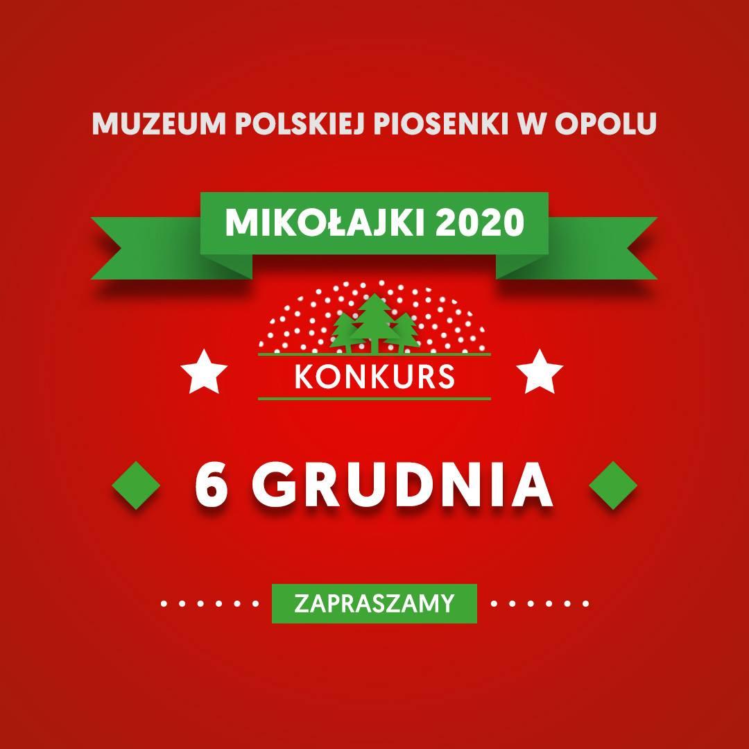 Mikołajki w Muzeum Polskiej Piosenki - weź udział w wirtualnych konkursach!