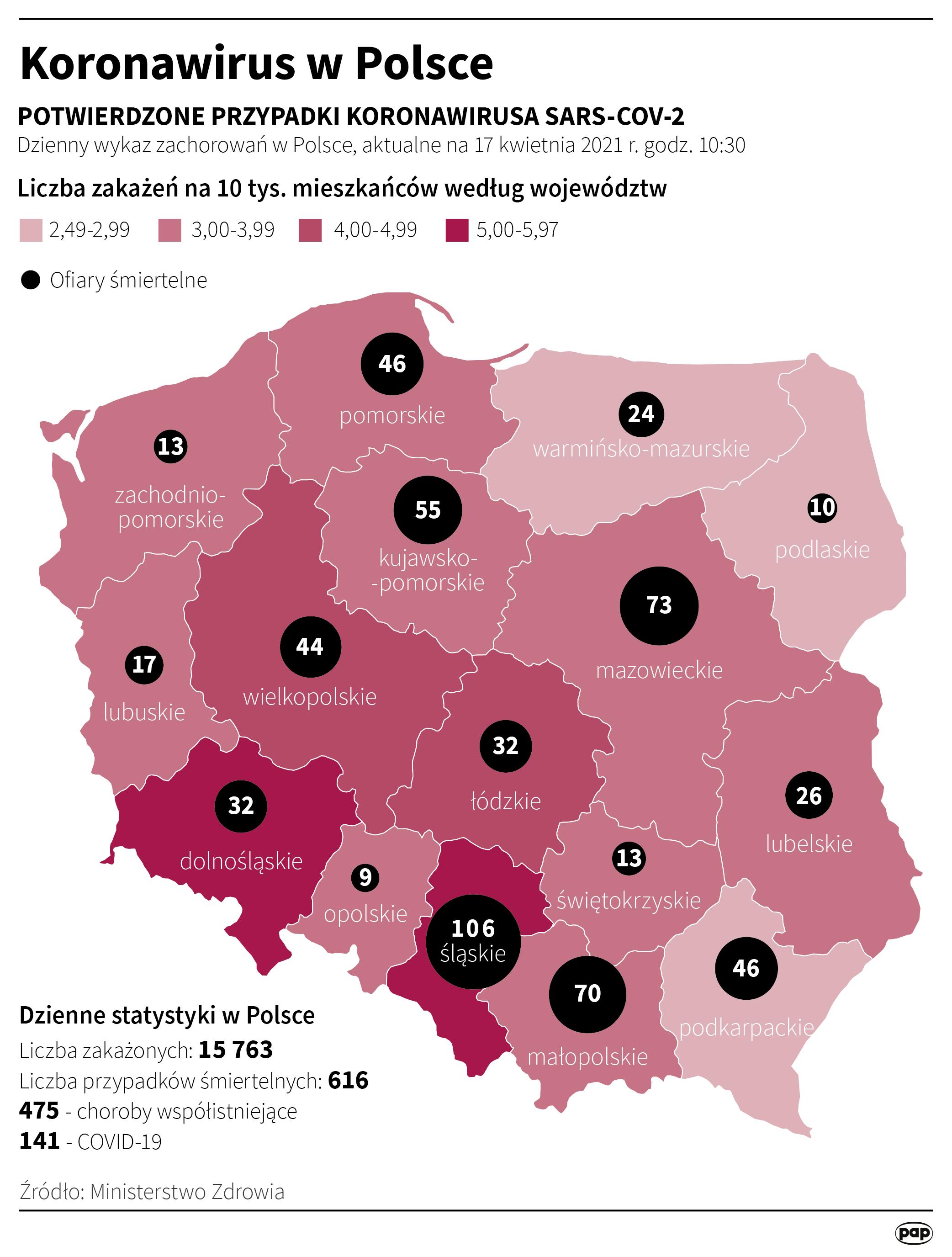 Infografika, Maria Samczuk - PAP