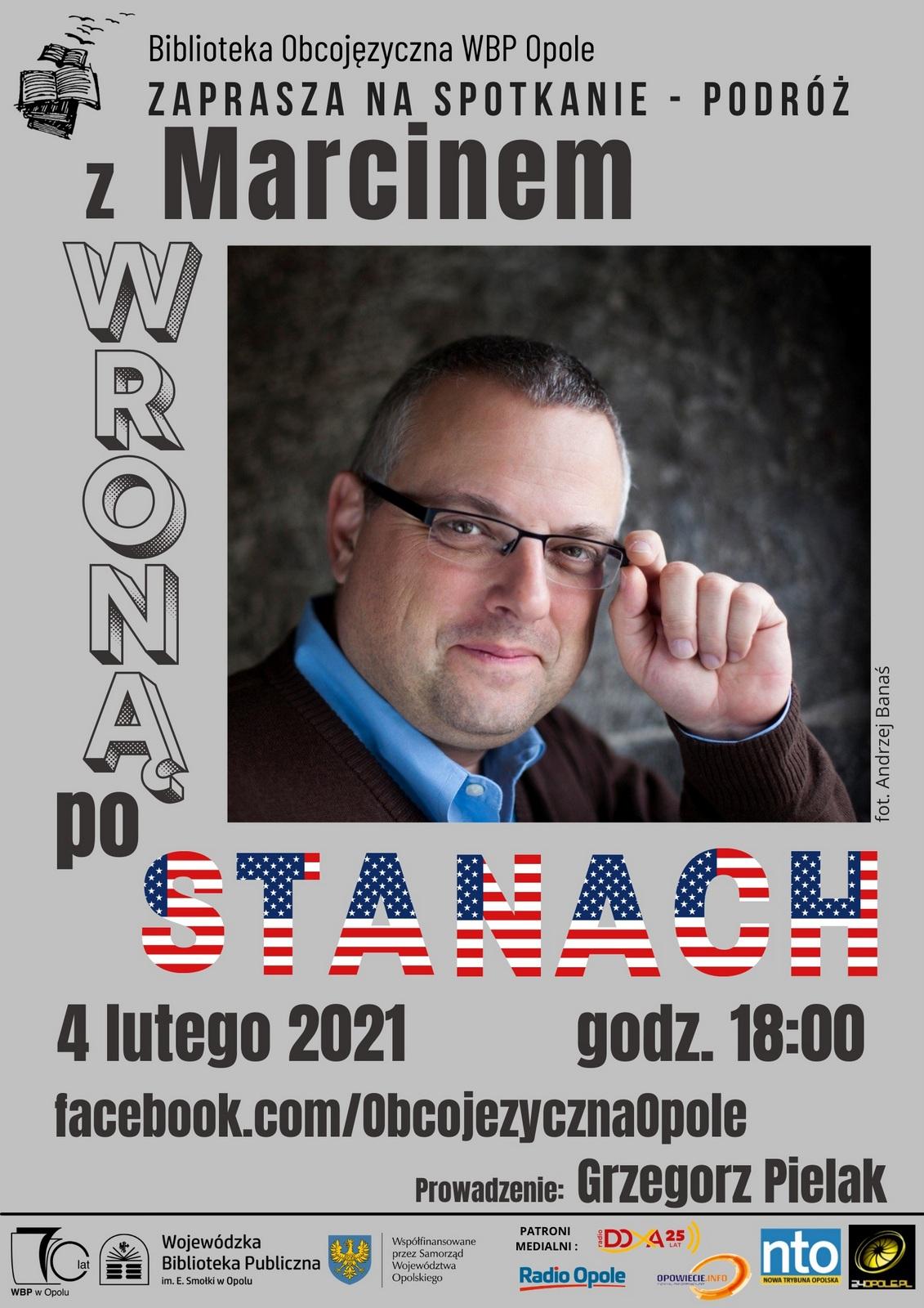 Spotkanie z Marcinem Wroną
