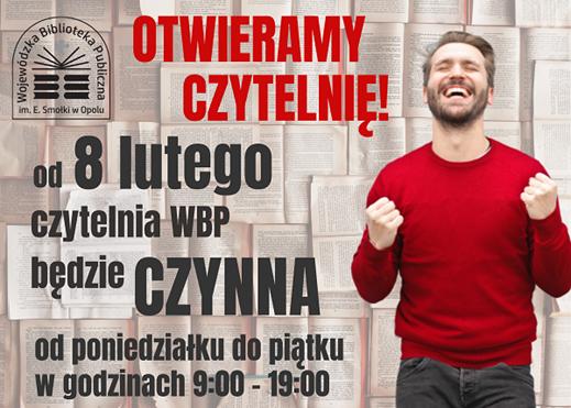 WBP w Opolu otwiera czytelnię