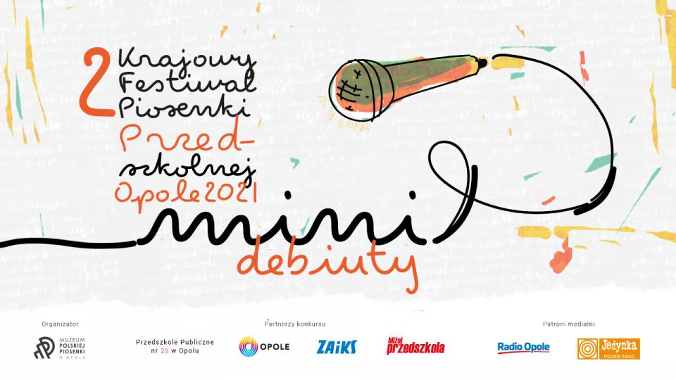 """II Krajowy Festiwal Piosenki Przedszkolnej """"Mini-Debiuty"""" – zgłoszenia przyjmowane są do 30 kwietnia [materiały organizatora]"""