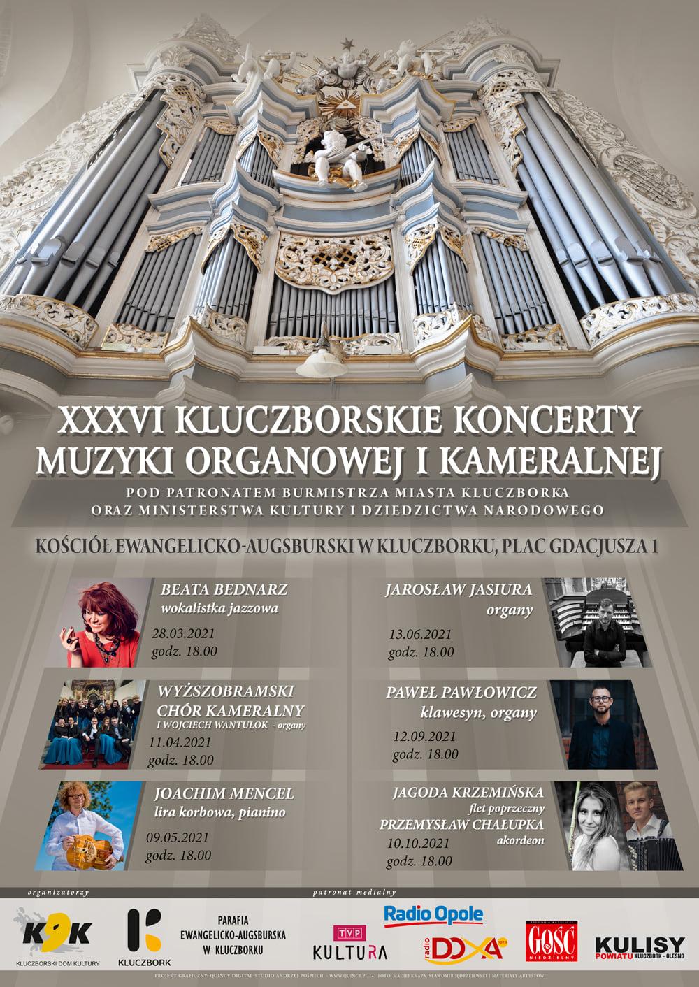 36. Kluczborskie Koncerty Muzyki Organowej i Kameralnej