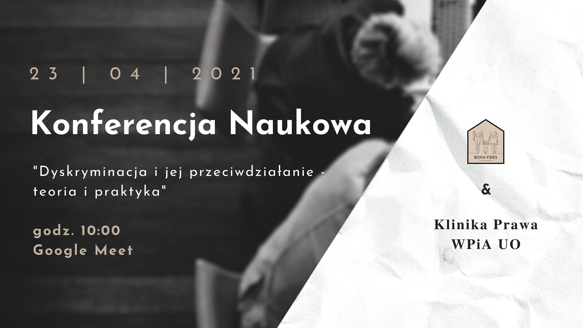 Radio Opole IV Ogólnopolską Konferencję Naukową pt. 'Dyskryminacja i jej przeciwdziałanie – teoria i praktyka' objęło patronatem medialnym