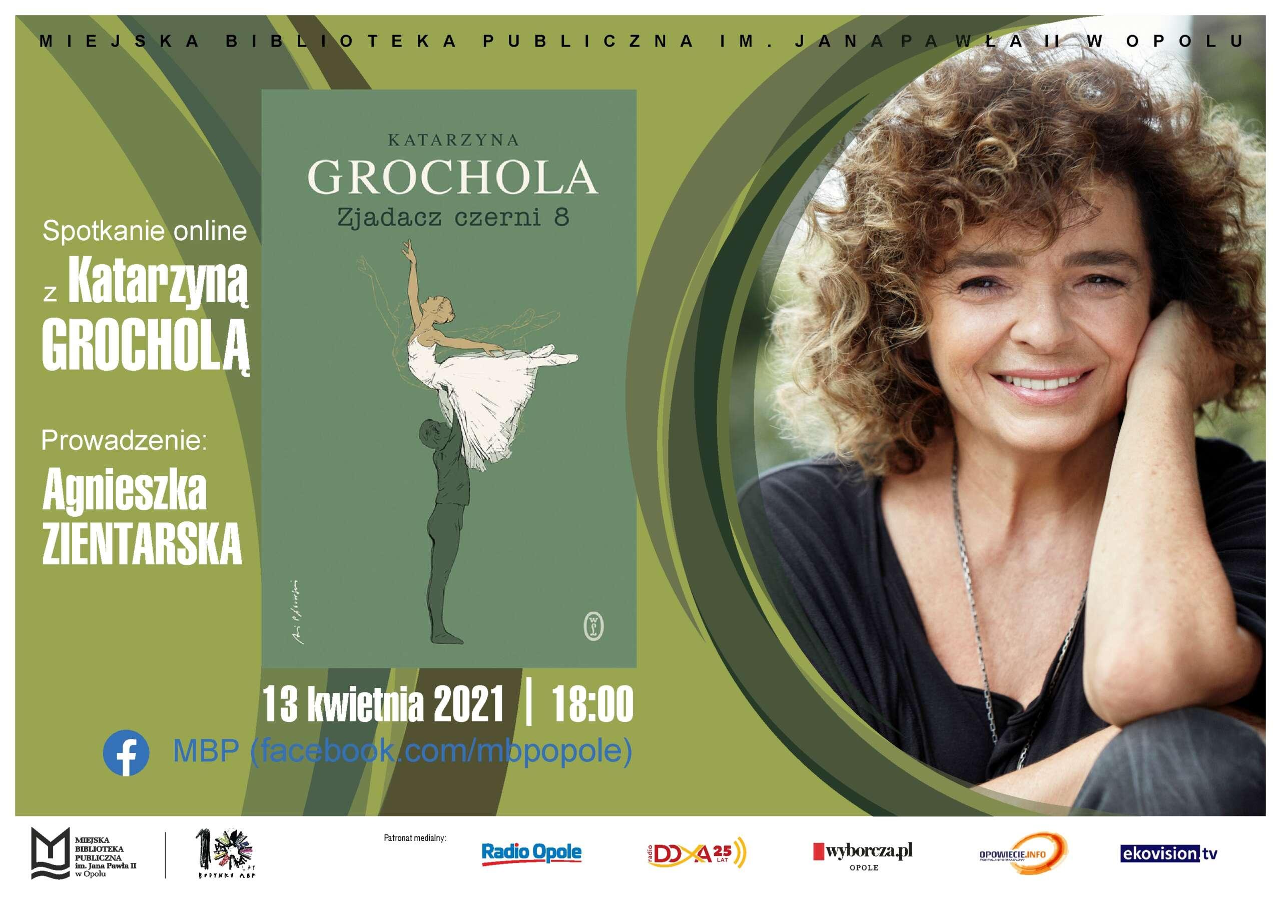 Spotkanie online z Katarzyną Grocholą już we wtorek