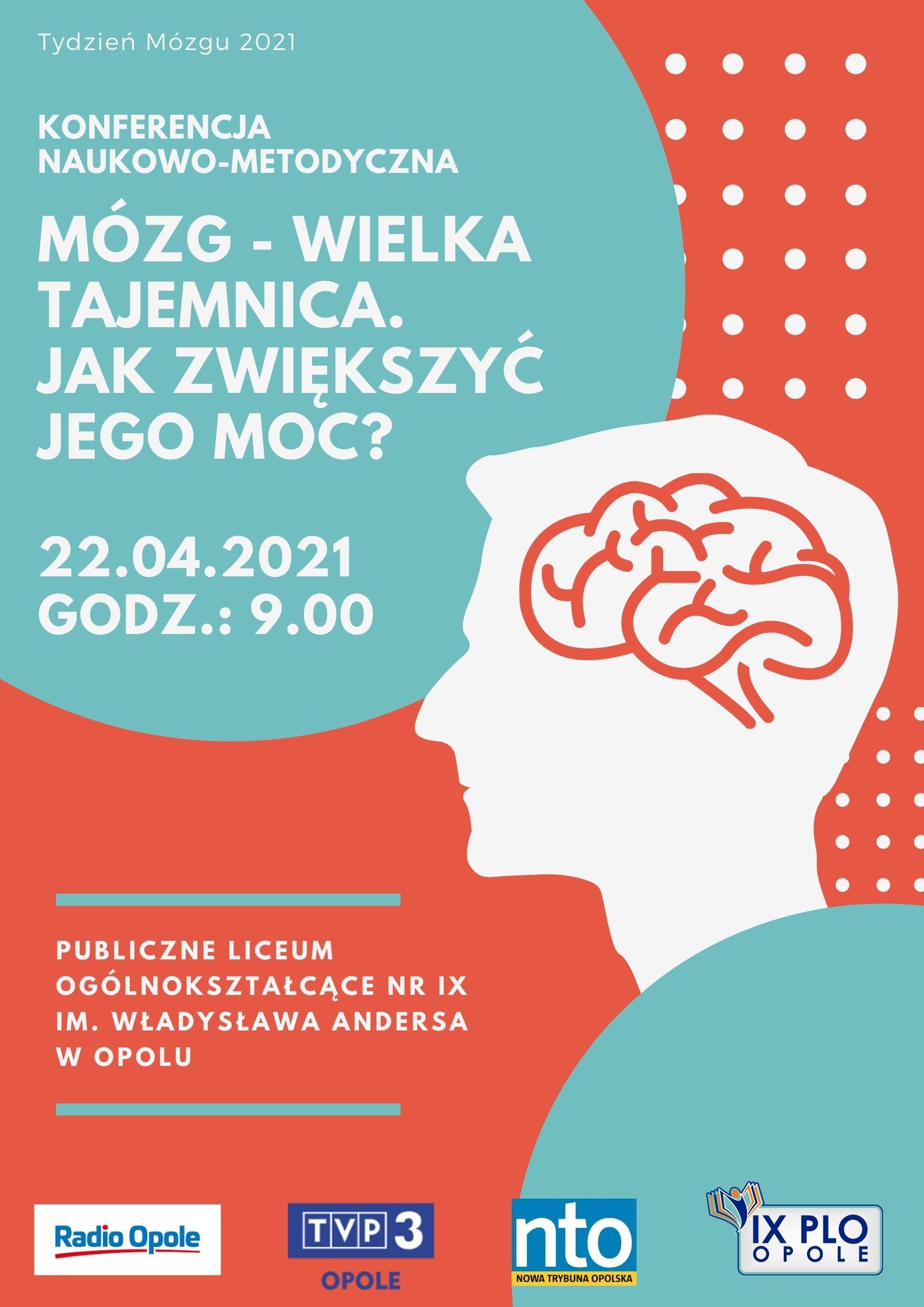 """""""Mózg Wielka Tajemnica. Jak zwiększyć jego moc?"""" - konferencja online"""