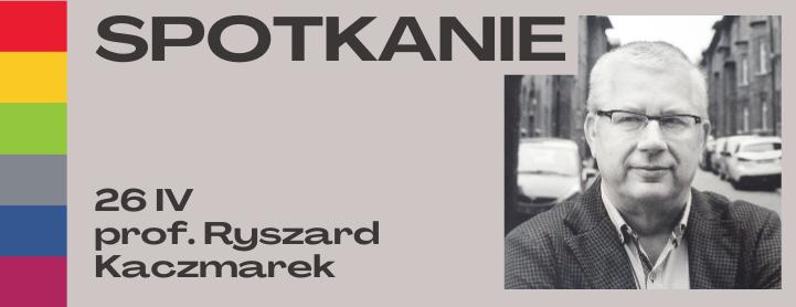 Badacz dziejów Polski, Śląska i Niemiec w XIX i XX w. prof. Ryszard Kaczmarek gościem WBP