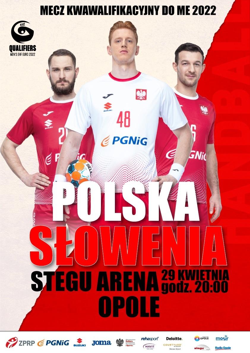 Eliminacje Mistrzostw Europy 2022: Polska - Słowenia. Transmisja na Radio Opole 3 SPORT już w czwartek o 20:00
