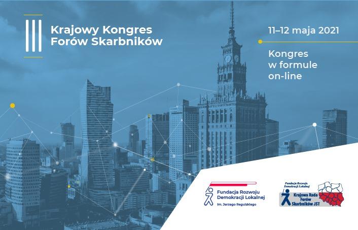 III Krajowy Kongres Forów Skarbników w tym roku on-line