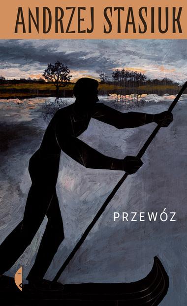 Okładka książki 'Przewóz' Andrzeja Stasiuka [źródło zdjęcia: Wydawnictwo Czarne, https://czarne.com.pl/katalog/ksiazki/przewoz]
