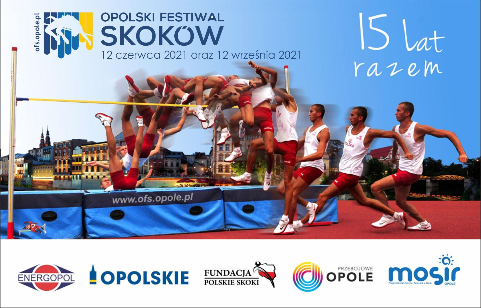 Plakat XV Opolskiego Festiwalu Skoków