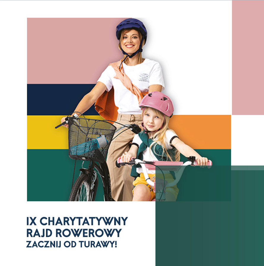 IX Charytatywny Rajd Rowerowy, zlot foodtrucków i inne atrakcje przy CH Turawa Park