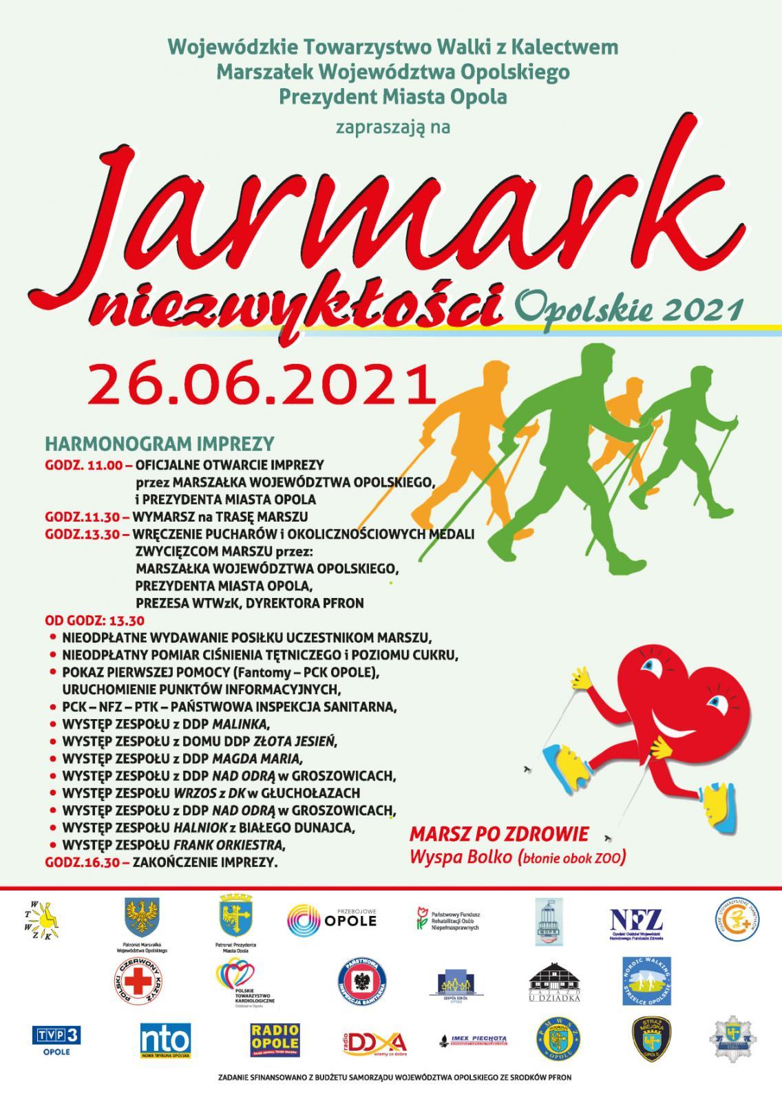Plakat Jarmarku Niezwykłości - 2021