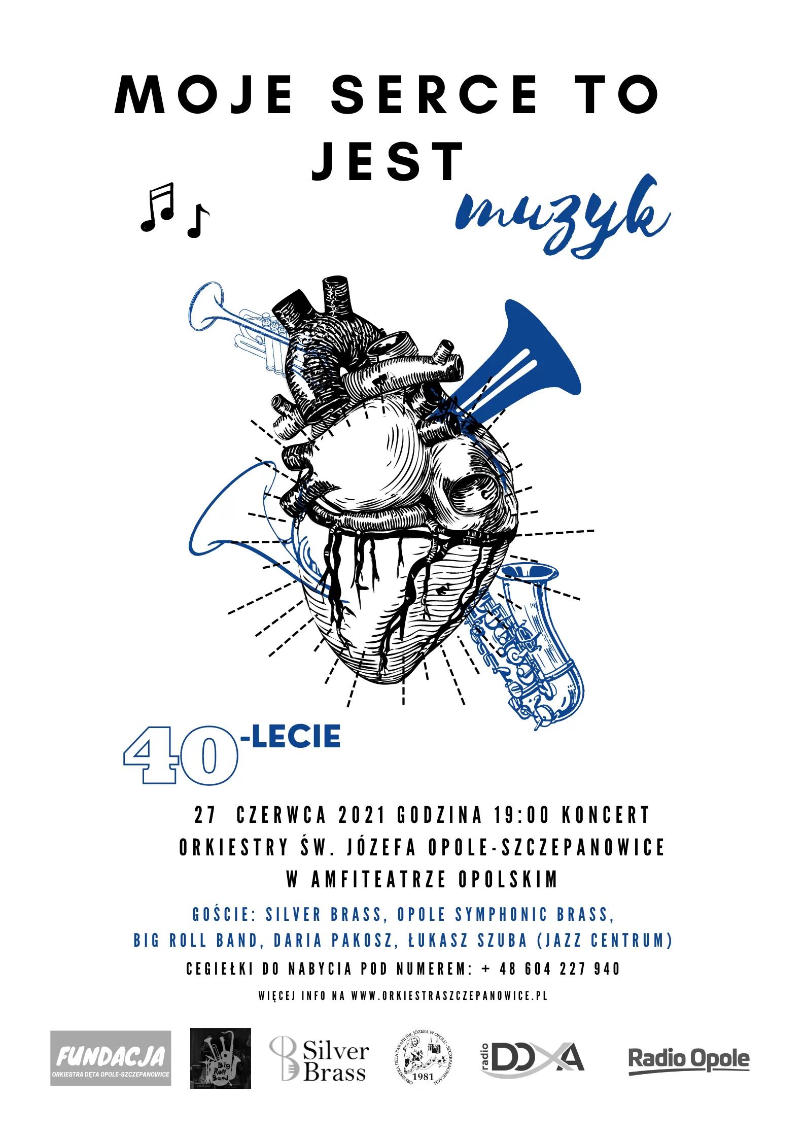 Orkiestra Dęta Parafii św. Józefa w Opolu-Szczepanowicach obchodzi 40-lecie