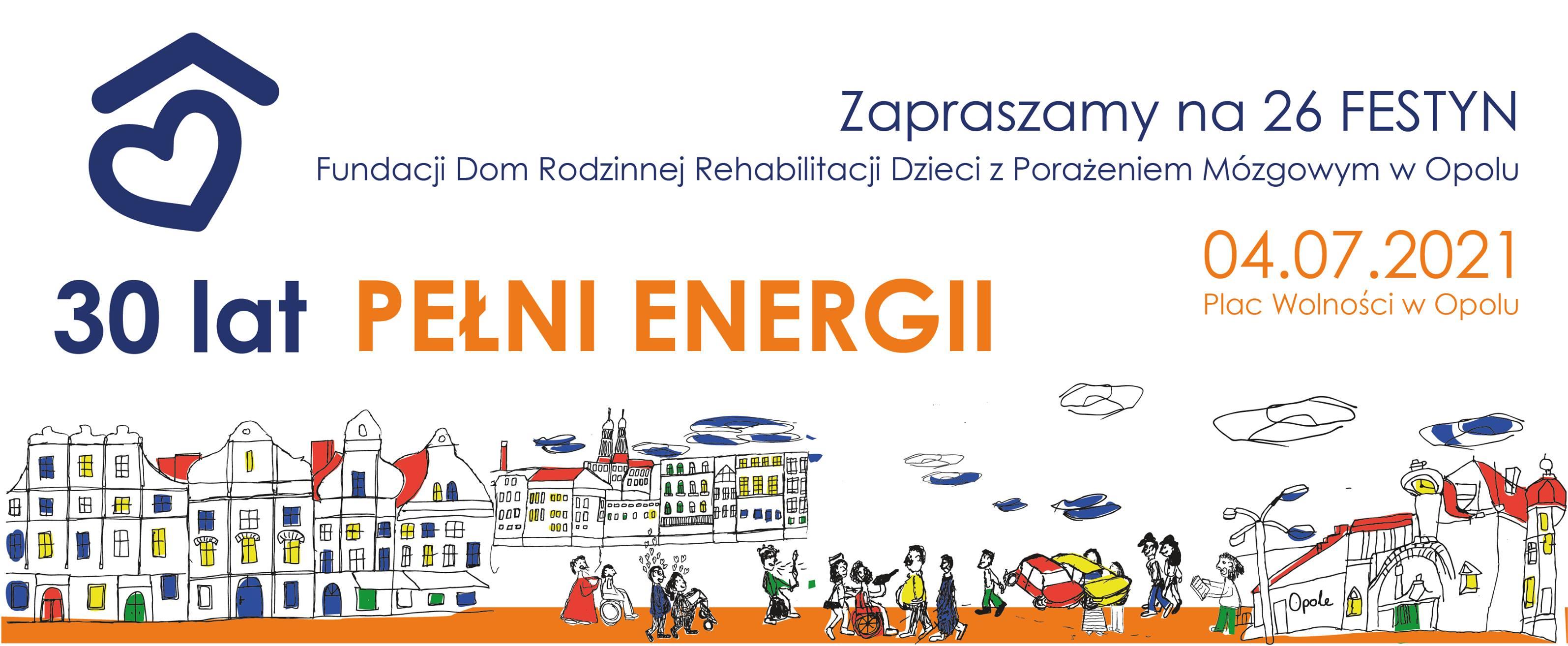 Festyn Fundacji DOM - wyjątkowy, bo jubileuszowy. Przyjdź w niedzielę na pl. Wolności w Opolu!