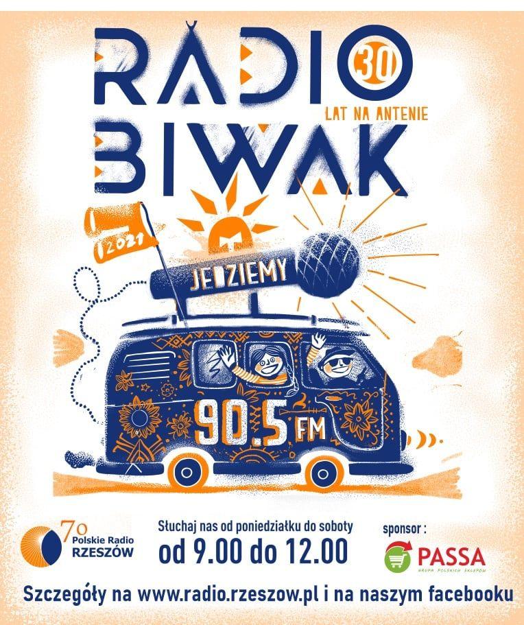 """Czas na """"Radio Biwak"""" – sprawdź co Radio Rzeszów szykuje dla swoich słuchaczy we współpracy z Radiem Opole! [materiały Radia Rzeszów]"""