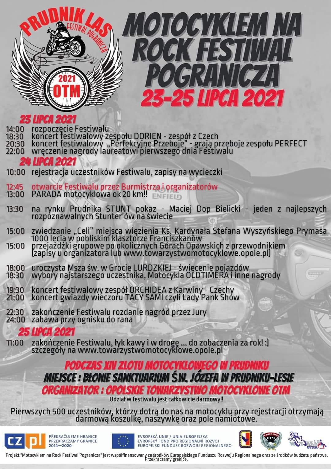 Motocykliści z całej Polski przyjadą do Prudnika