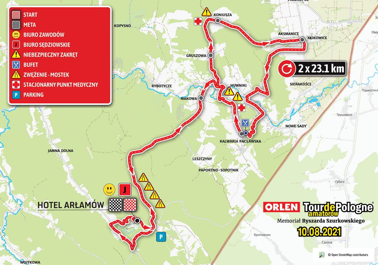 78. Tour de Pologne UCI World Tour: Z Lublina do Krakowa