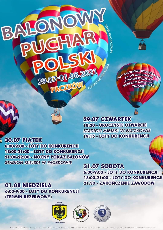 Plakat Balonowego Pucharu Polski