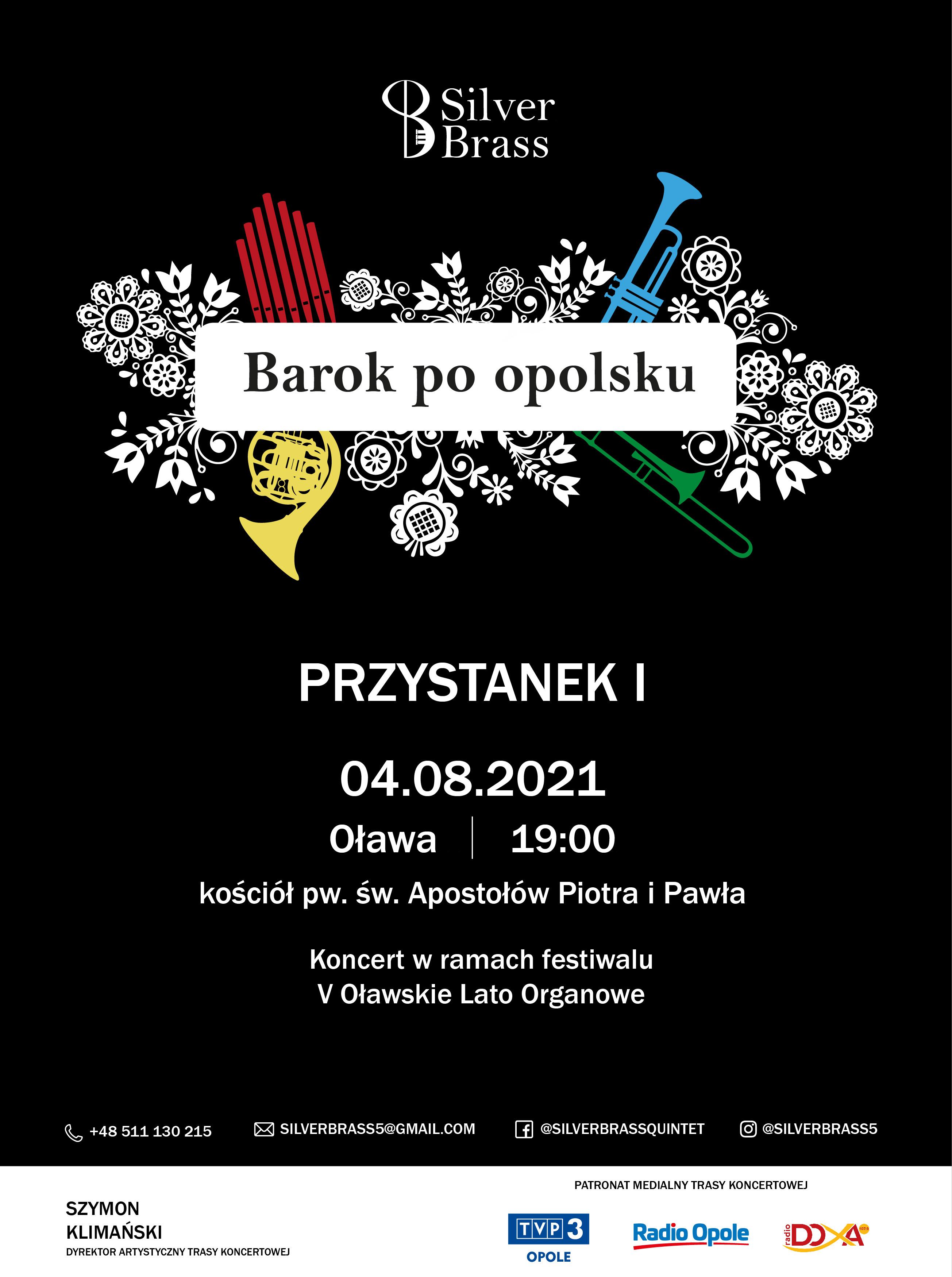 """""""Barok po opolsku"""" – zespół Silver Brass rusza w wyjątkową trasę koncertową! [materiały organizatora]"""
