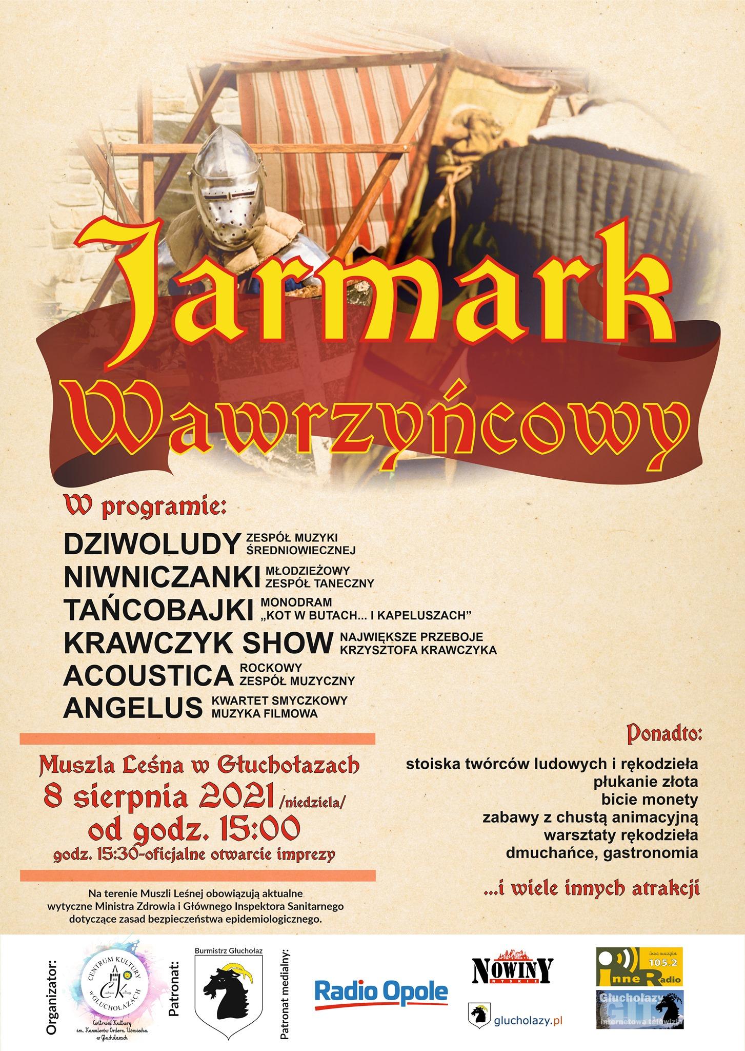 Zbliża się doroczny Jarmark Wawrzyńcowy w Głuchołazach – poznaj szczegóły! [materiały organizatora]