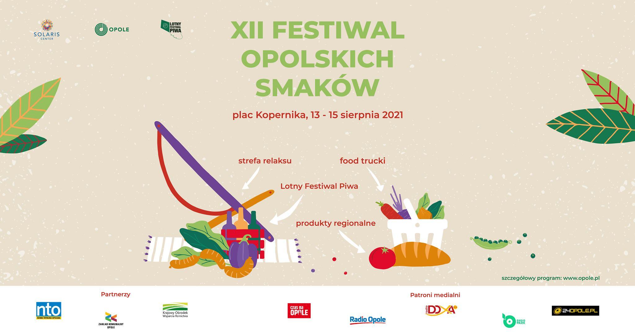 XII Festiwal Opolskich Smaków już w ten weekend – poznaj szczegóły! [materiały organizatora]