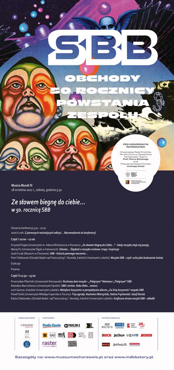Plakat dotyczący konferencji
