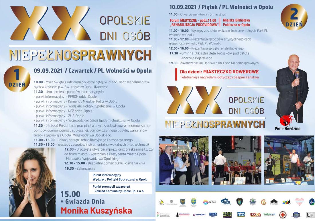 XX Opolskie Dni Osób Niepełnosprawnych
