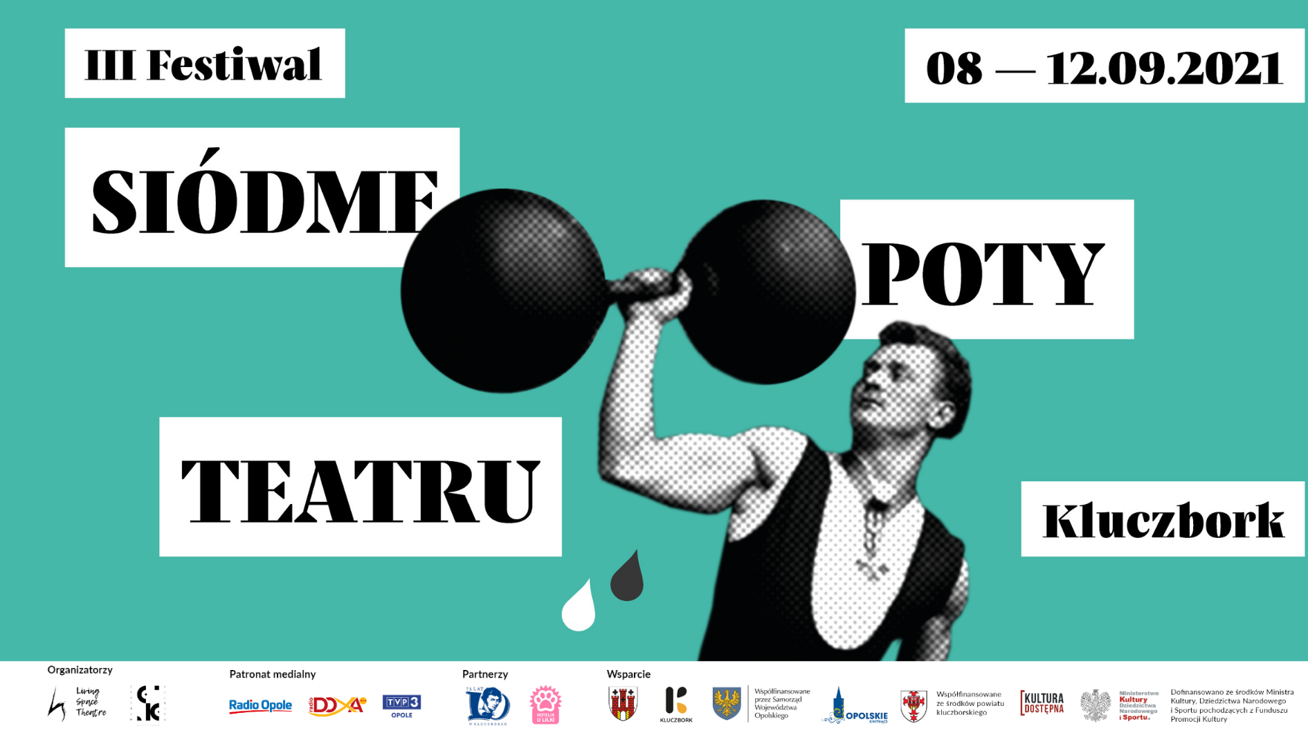 Plakat. III Festiwal Siódme Poty Teatru1