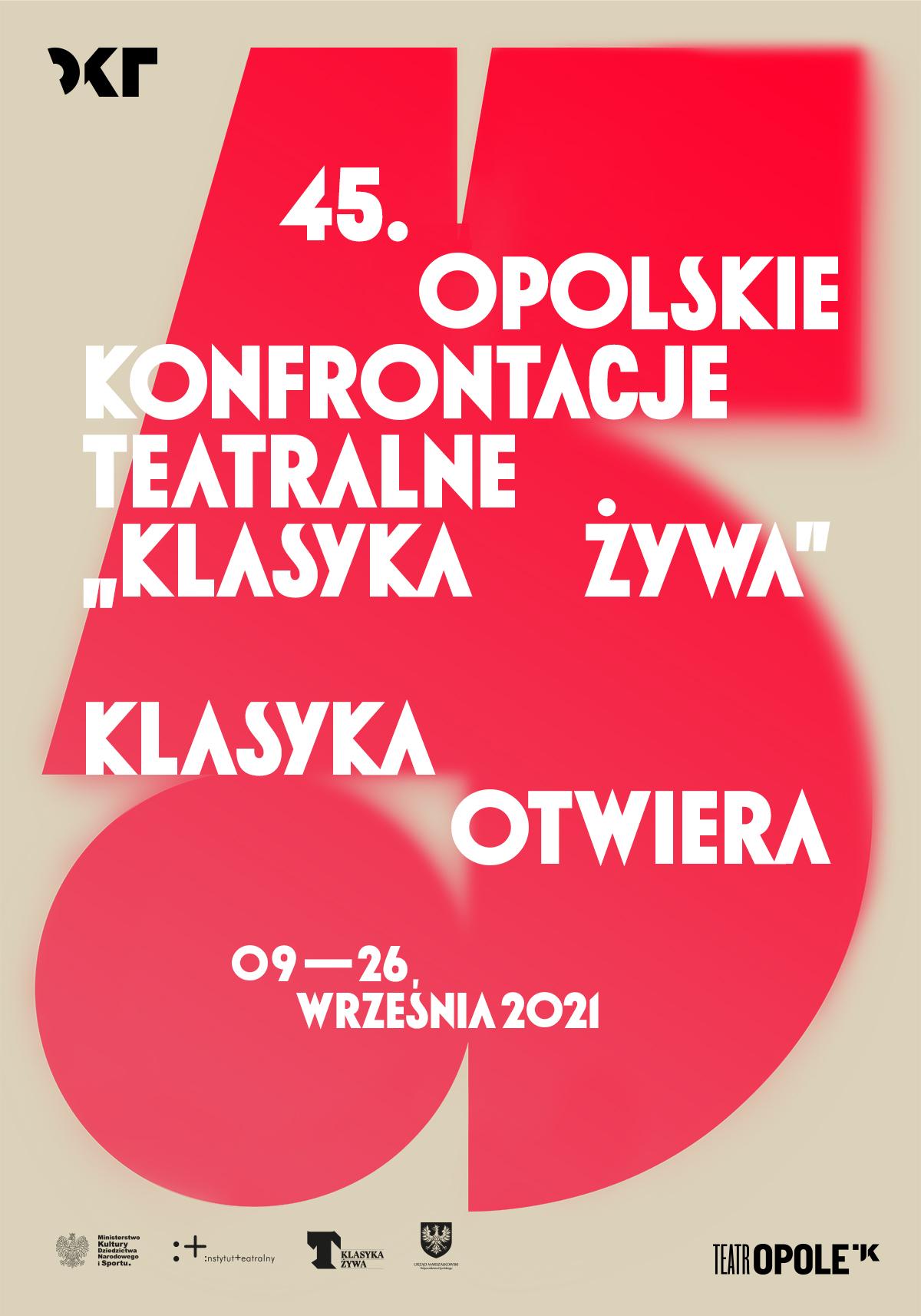 Plakat 45. OKT 'Klasyka Żywa'