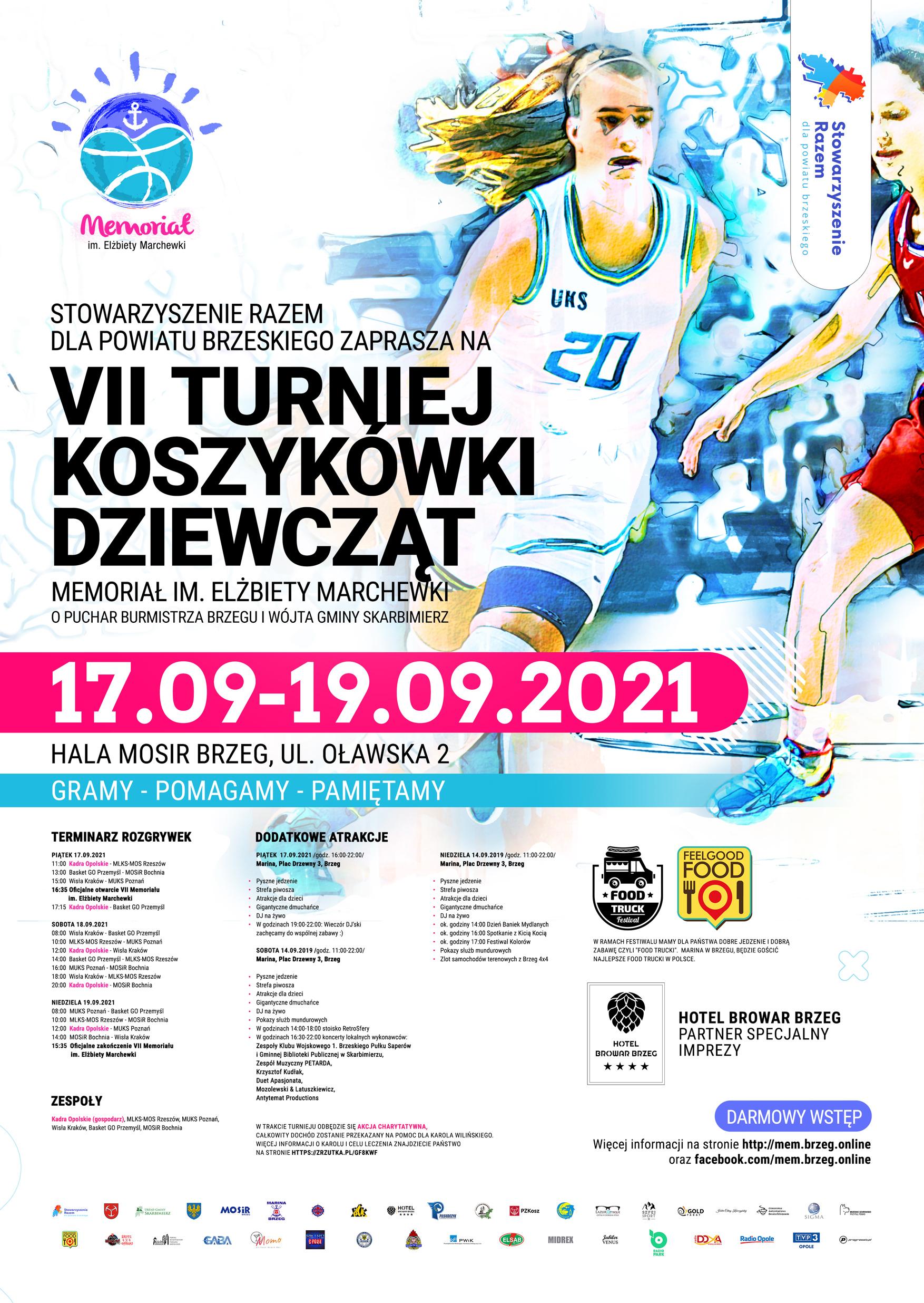 Gramy, pomagamy, pamiętamy! Zbliża się VII Międzynarodowy Turniej Piłki Koszykowej Dziewcząt Rocznika 2008 w Brzegu [fot. materiały organizatora]
