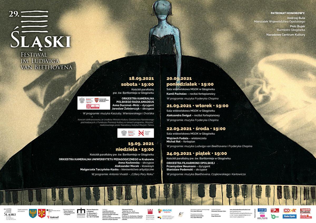 Plakat festiwal Beethovena 2021