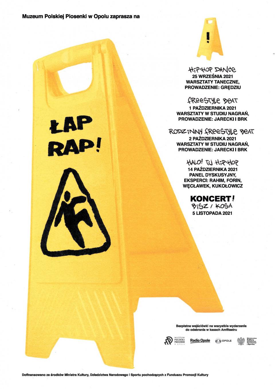 Łap RAP! – rusza projekt MPP w Opolu! Wśród prowadzących warsztaty Jarecki i DJ BRK! [fot. materiały organizatora]